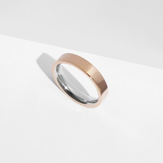 NEW! Dual Texture Ring | Rose Gold