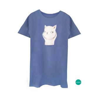 emmaAparty illustrator T: rich cats (long-term limited edition two colors)