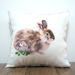 Taiwan Hare Pillow (Taipei Leek) Female Rabbit - 30cm