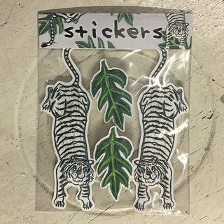 Double Tiger Pro sticker set