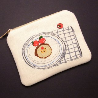 Zipper pouch / coin purse (padded) (ZS-195)