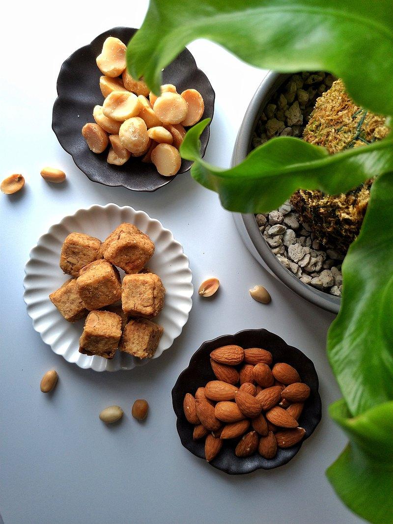 【椿月】鹽花堅果奶油酥 I 法式茶點系列