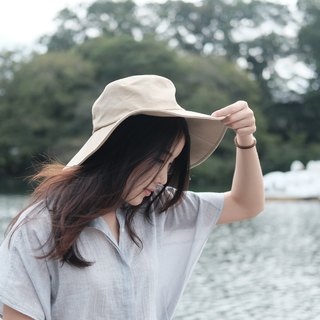 FLOPPY HAT- Beige