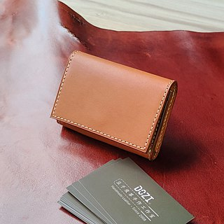[DOZI leather hand made] texture business card holder large capacity can be freely selected