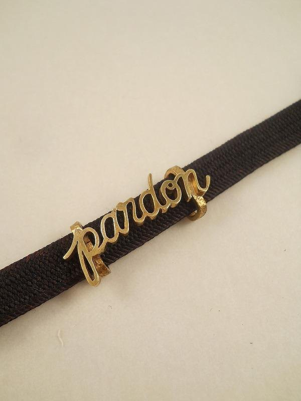 "Sash clip ""pardon"" (France)"