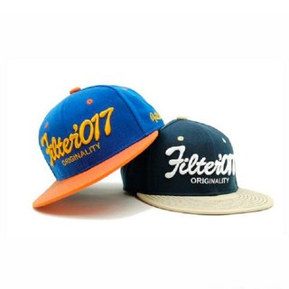 Filter017 Vintage Fonts Fitted Cap Series 2 / retro font style baseball cap full closure Series 2