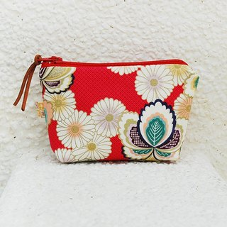 Japanese style marshmallow small storage bag