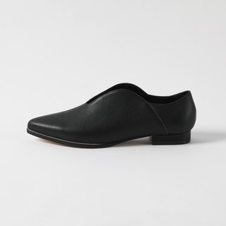 ZOODY / curved / hand shoes / flat curved shoes / black