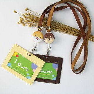 Full series - Shiba (Dachshund has completed the sale of) good dog i wear retractable badge certificate clip votes votes clips Easycard stretch suede pull ring