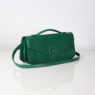 [HANDOS] Melodica Two-Layer Shoulder Bag - Tropical Green [Show Clear]
