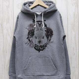 ronron RABIT Parker Flower Frame (Heather Gray) / RPP 011 - GR