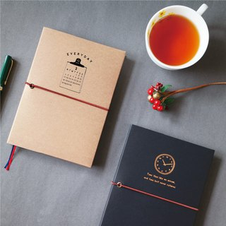 Ching Ching X Simple Life Series CDM-249 2019 32K Annual Double Color Paper Booklet