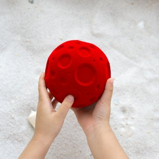 Rubbabu -Biodegradable Green Soft Safe Natural Rubber Toys-   -Moony -