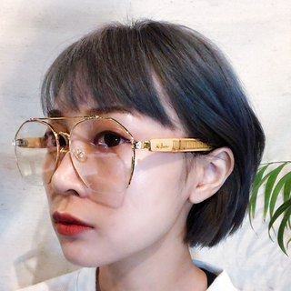 Mr.Banboo Taiwan handmade glasses [engraving old window flower king word series] Taiwanese bamboo