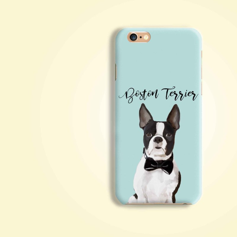 Boston Terrier Dog Matt hard Phone Case Cover iPhone X 8 8 plus 7 7+ 6 S8 Note 8