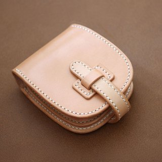 Saddle leather's short wallet (Insert type)