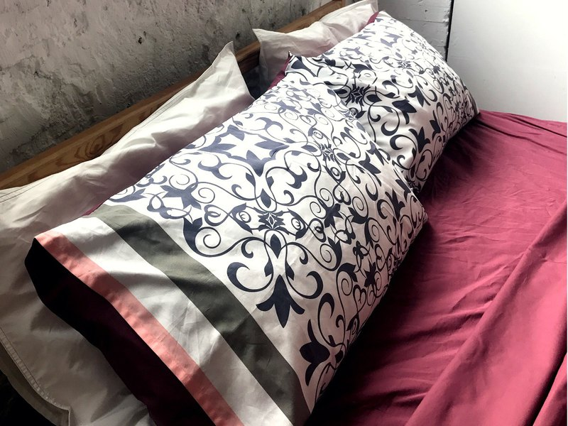 The Day that Spring light Shine_100% organic cotton bedding set_Twin