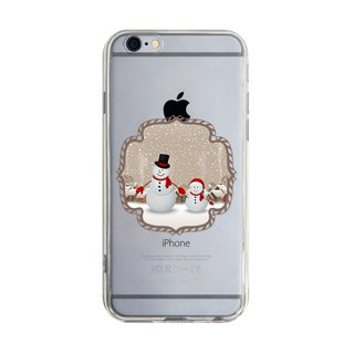 Size Christmas Snowman - Samsung S5 S6 S7 note4 note5 iPhone 5 5s 6 6s 6 plus 7 7 plus ASUS HTC m9 Sony LG G4 G5 v10 phone shell mobile phone sets phone shell phone case