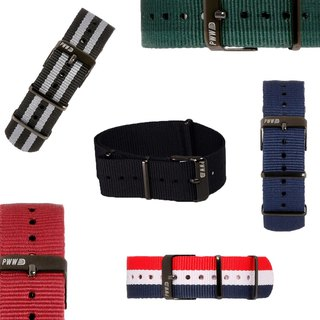 20mm SIGNATURE NATO STRAP Bundle (Set of 4)