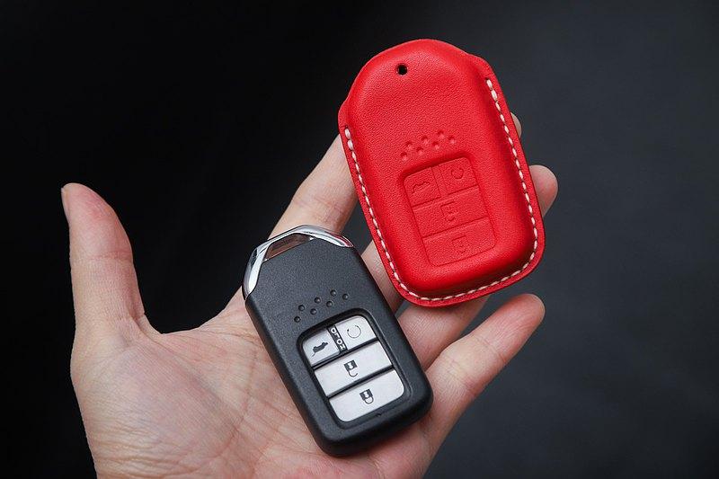 要自己做的 汽車鑰匙包 真皮套 手工DIY