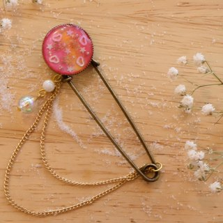 CUTE Beauty & Adorable for Endearing best gift Pink Brooch