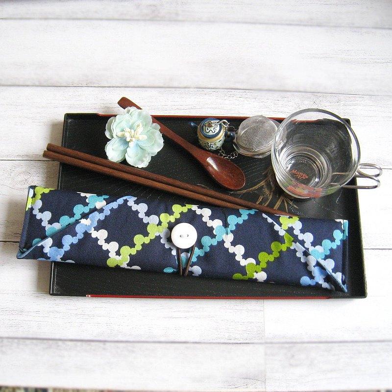 環保餐具組 餐具套 筷子套、餐具布套 飲管袋 CH-002