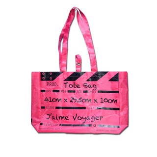 Director Clap Tote Bag - Pink (Polyester)