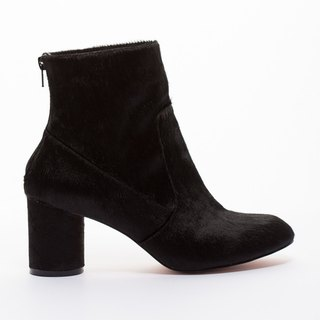 [Intellectual] Saint Landry horsehair boots - black Yaohui