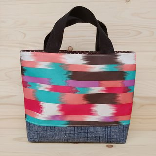 Nylon waterproof tote bag _ color brush