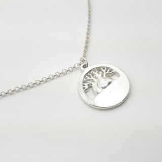 S19 Life Tree - Royal Craftsman Works - 925 Sterling Silver Necklace - Knockable Jewelry