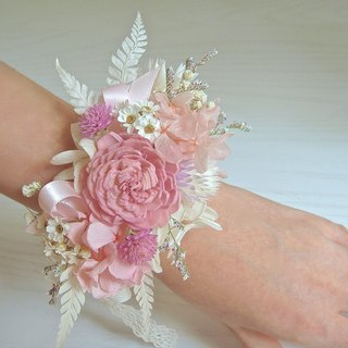 Masako Angel Wings Wrist Flowers Do Not Wither Dry Flowers Wedding Wedding Dresses