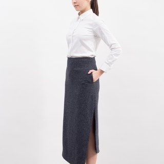 ASYMETRICAL LONG SKIRT
