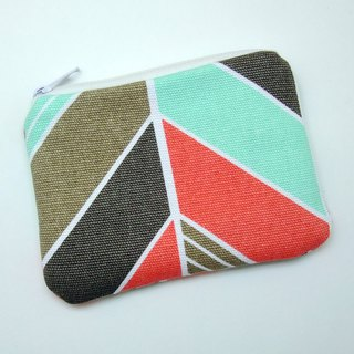 Zipper pouch / coin purse (padded) (ZS-252)
