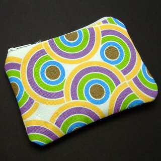 Zipper pouch / coin purse (padded) (ZS-93)