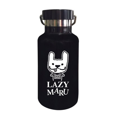 LAZYMARU-LM000035 MARU Limited Insulation Bottle (Black) Fighting Taiwan Wenchuang