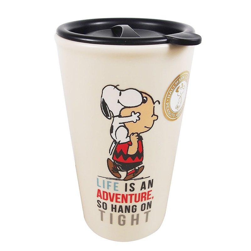 Snoopy旅行隨身杯-人生是一場冒險【Hallmark 史努比馬克杯 】