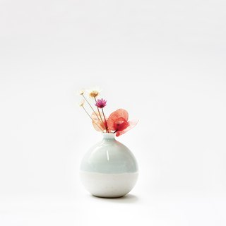 Handmade Ceramic Mini Vase - light turquoise
