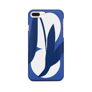 Blue Tea Leaves  - Phone Case