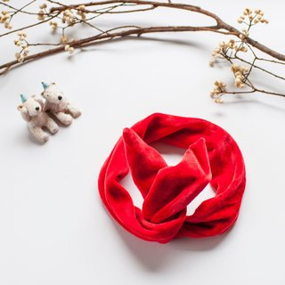 [My little star] level manpower for the bright red little bunny organic cotton headband (paternity paragraph)