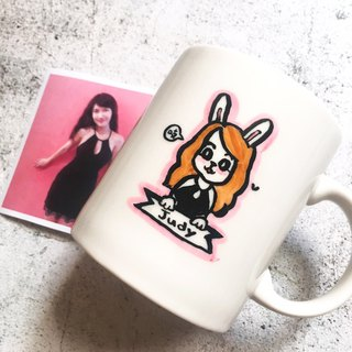 Custom Q version portrait. Portrait _Kuso cute animal _ portrait mug