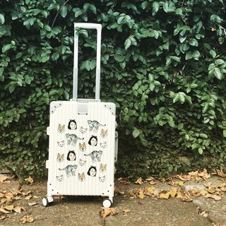 FunPrint Customized Luggage (can have four patterned illustrations)