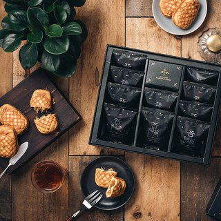 Amo Pineapple Shortcake - (Send Free in Taiwan) - Black Bottom Bronzing Gift Box - 1 Box 10pcs