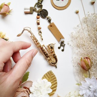 [Saxophone] mini Sachs texture mini model charm packaging accessories custom gift