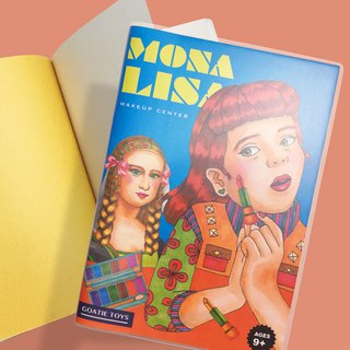 Mona Lisa Makeup Artist - Line Pack Small Notes