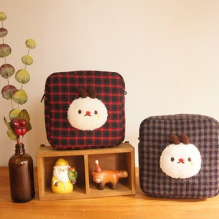 Mini carry-on bag plaid good friend size can be customized