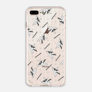 Japanese Painting【Samurai Helmet】Crystals Phone Case
