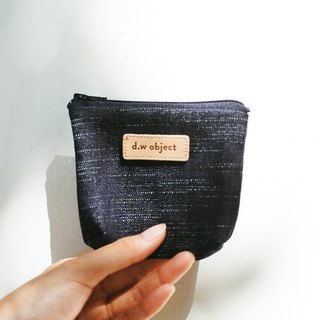 denim coin purse - plain