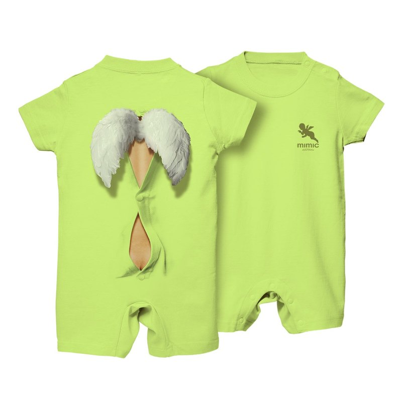 3ae7f656a9 Mimic Rompers  ANGEL ver  Lime green