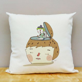 Easy to understand cotton canvas pillow