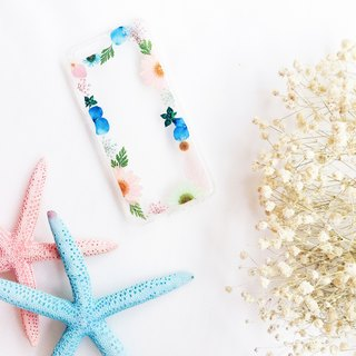 花花框 • Handpressed Flower Phone Case